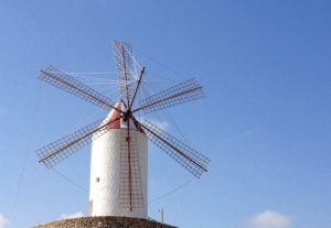 Menorque moulin