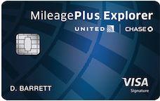 Chase United Mileage Plus Explorer
