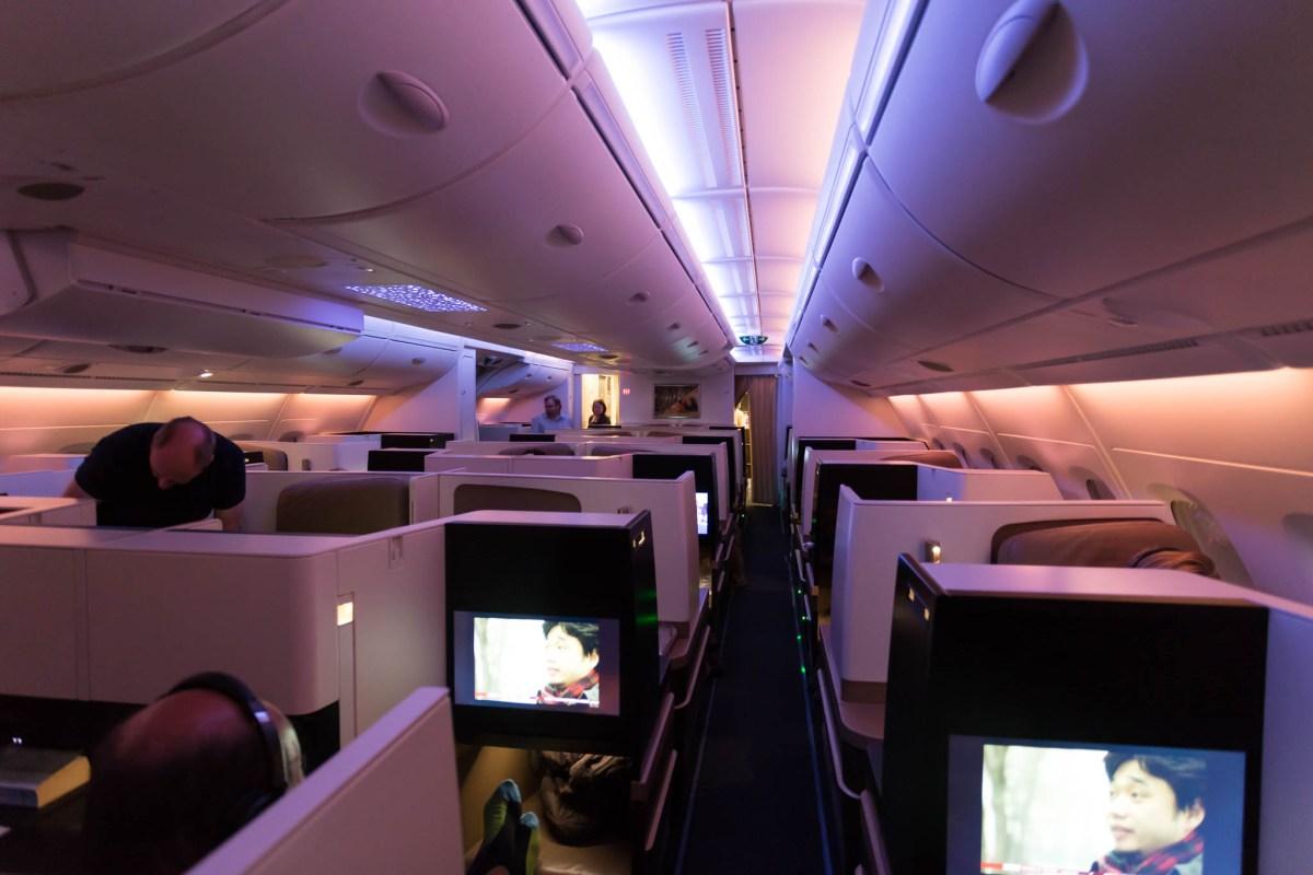 Review - Etihad A380 Business Studios Melbourne - Abu Dhabi