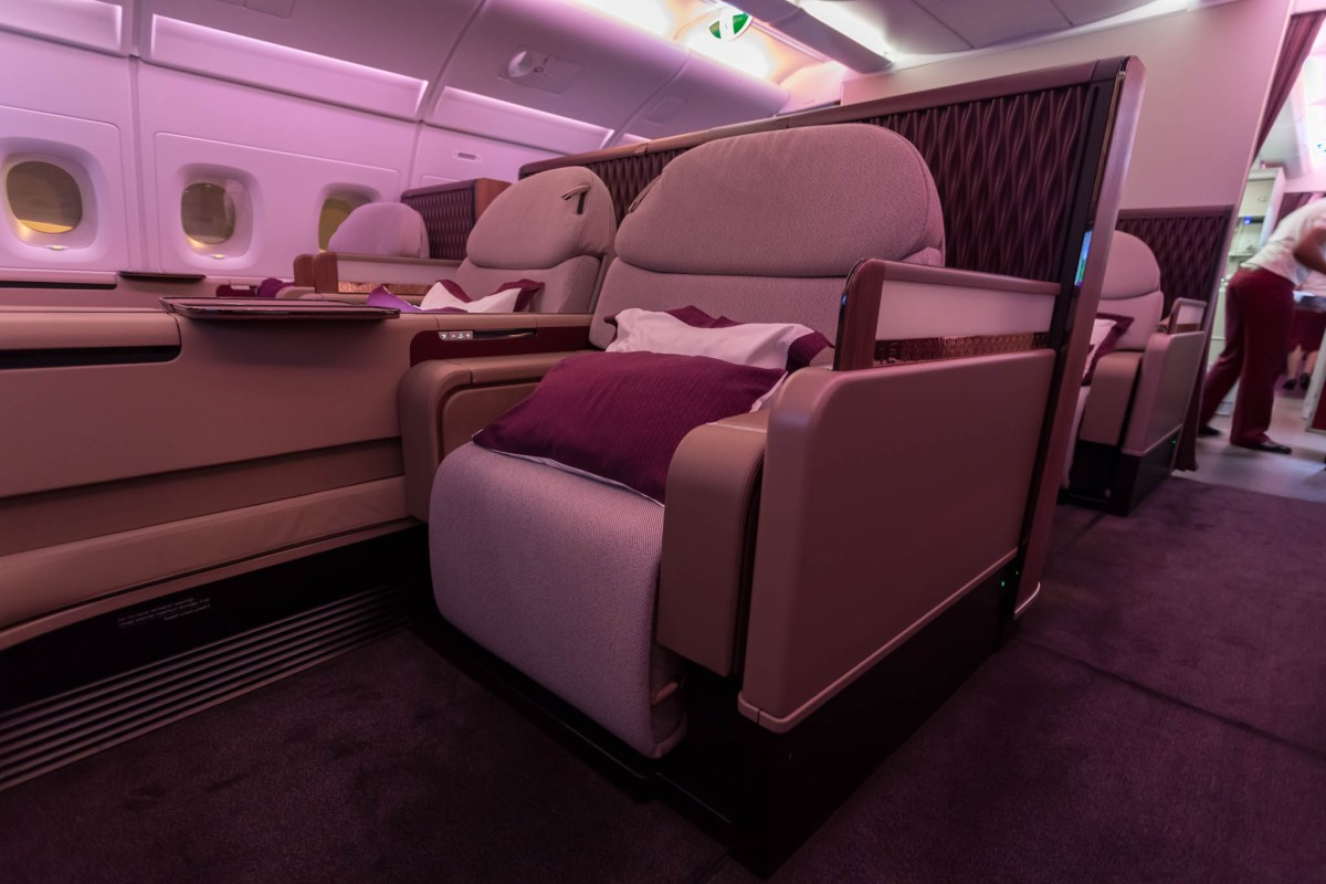 Review - Qatar Airways A380 First Class, Sydney To Doha