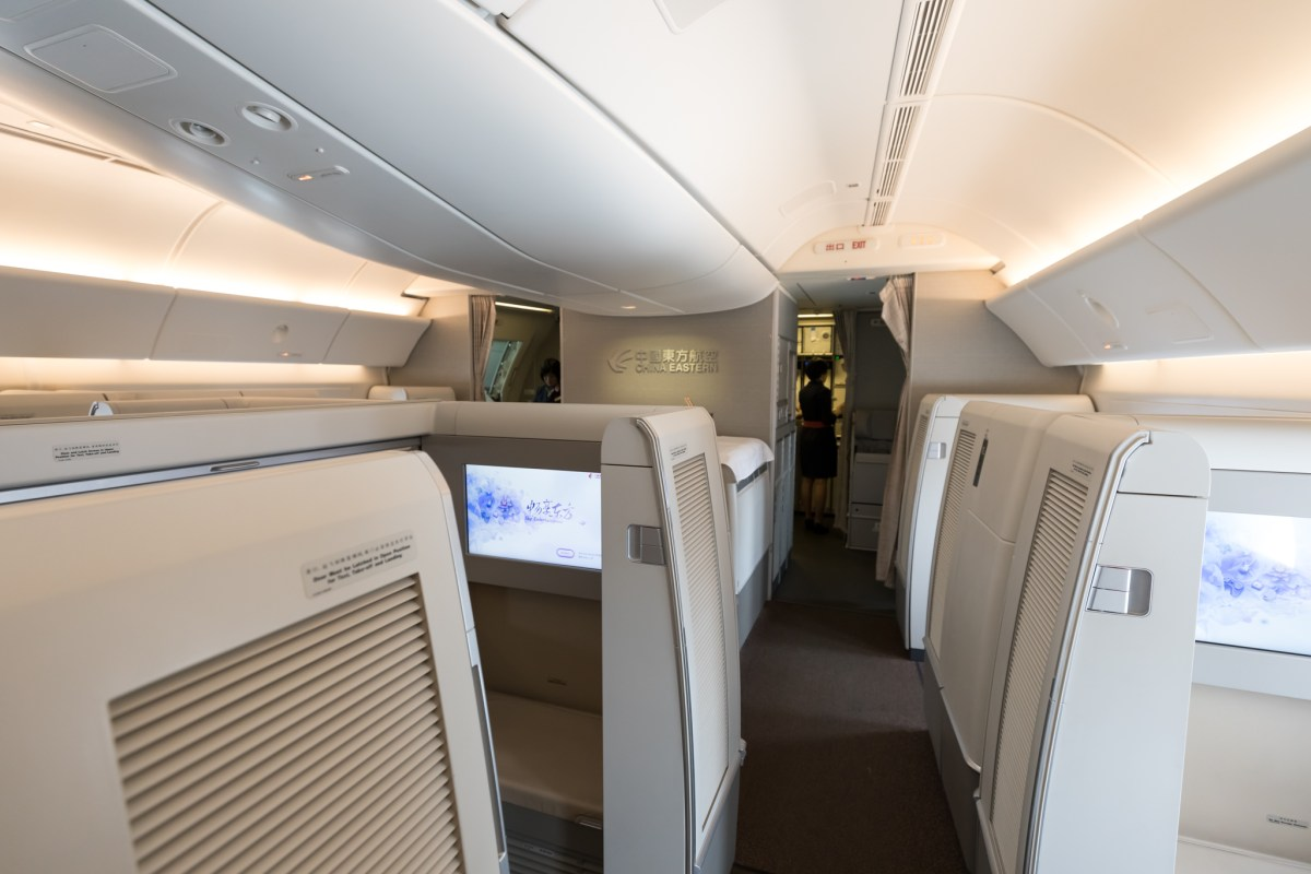 Review - China Eastern 777 First Class Shanghai - New York