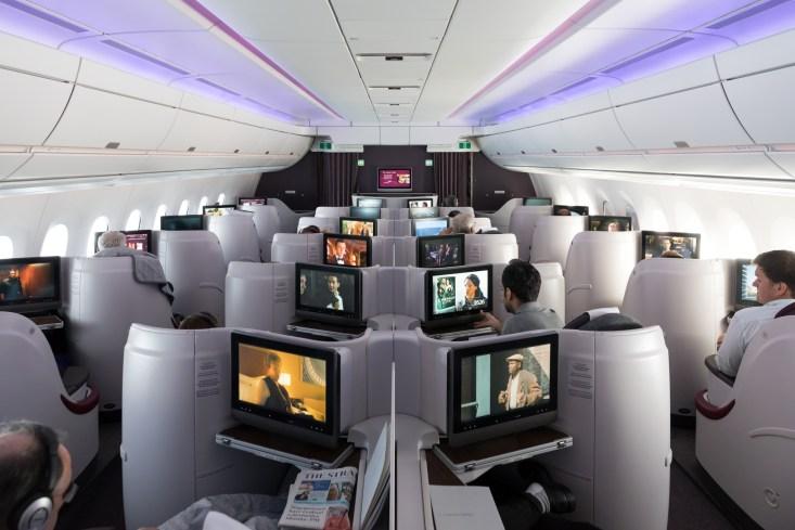 Review - Qatar Airways A350 Business Class Singapore ...