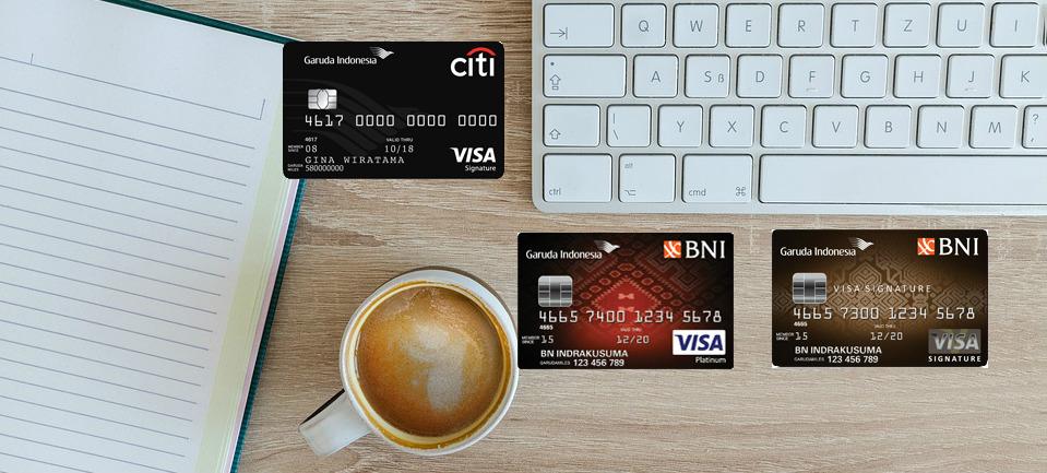 Kartu Kredit dengan Co-Brand Garuda Indonesia