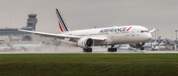 Melihat Kabin Pesawat Air France A330 Terbaru
