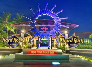 Hard Rock Hotel Bali maybank