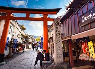 Jepang merupakan negara bebas visa di Asia