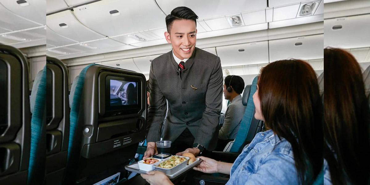 Menu Spesial Cathay Pacific Kelas Ekonomi Jarak Jauh