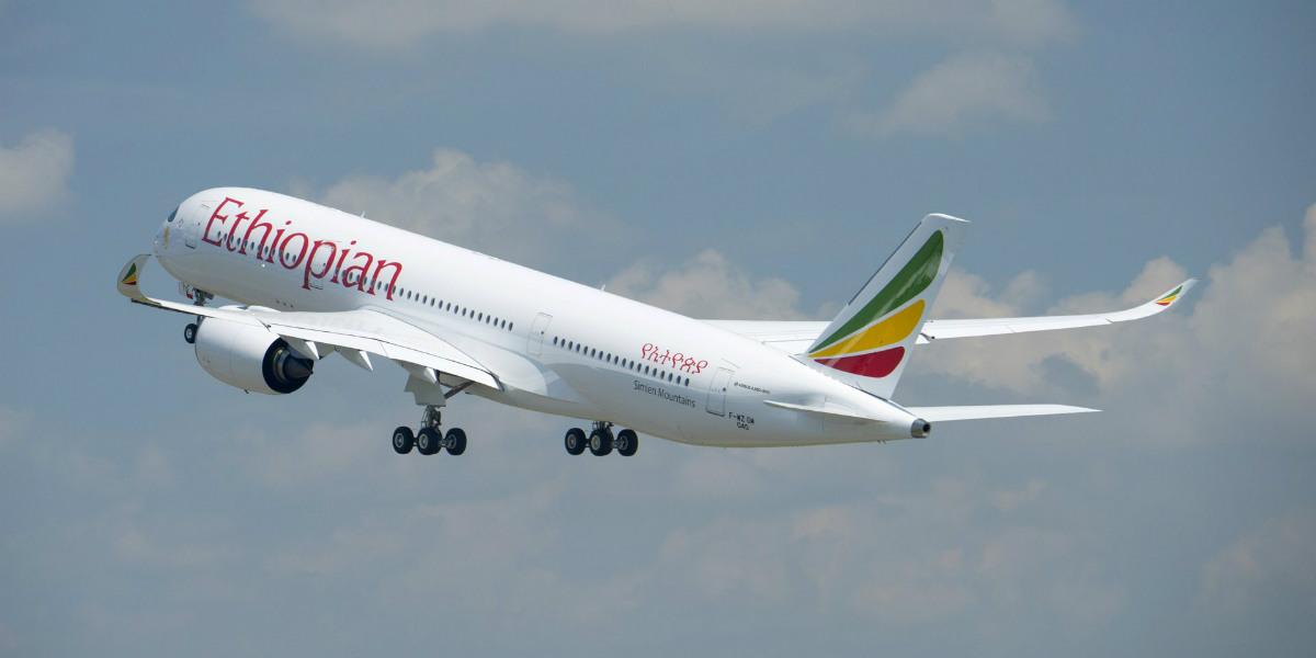 Ini Alasan Ethiopian Airlines Pesan Airbus A350