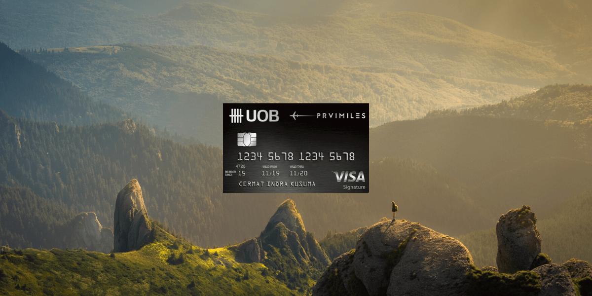 Kartu Kredit UOB Prvi Miles Visa Signature