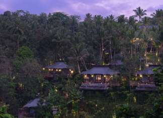 Capella Ubud hotel di Bali