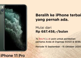 Digimap bonus 7x MAPCLUB Poin