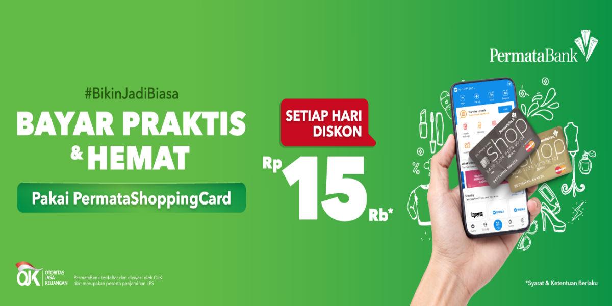 Pakai Permata Shopping Card Di Dana Diskon Rp15 Ribu Points Geek