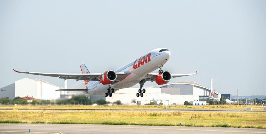 rt pcr Lion Air Airbus 330-900NEO
