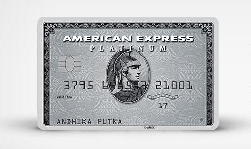 BCA American Express Platinum Amex JW Marriott