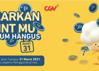 CGV member poin hangus