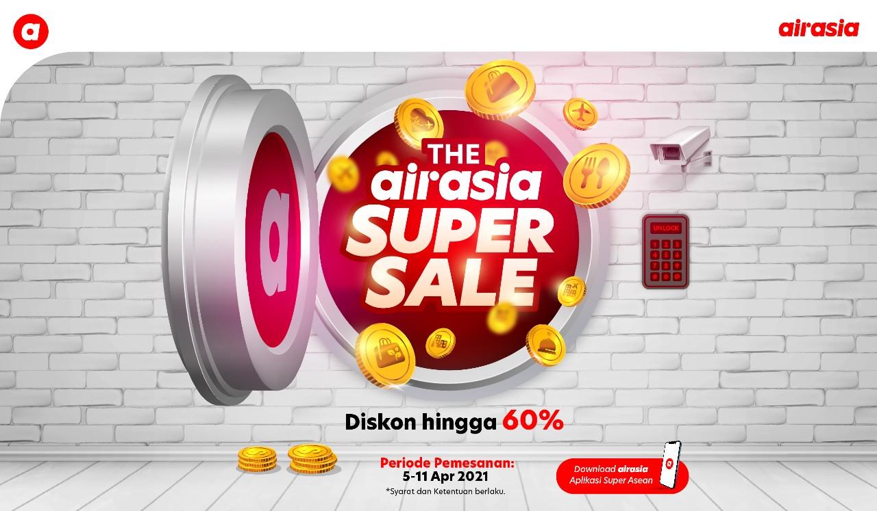 AirAsia Super Sale April 2021