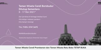 Libur Idul Fitri, Candi Borobudur Tutup, Prambanan dan Ratu Boko Buka