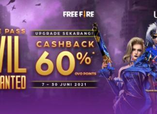 OVO UNIPIN game free fire diamond