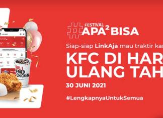 Linkaja KFC Juli 2021