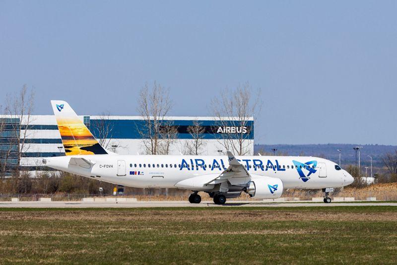 Airbus A220 Air Austral