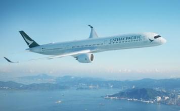 Cathay Pacific Pesawat Hong Kong bahan bakar