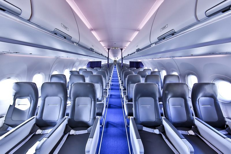 Lufthansa Airbus A321neo With Airspace Cabin