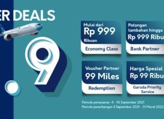 Super Deals 99 Garuda Indonesia