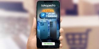 Tokopedia BCA Festival tukar tambah