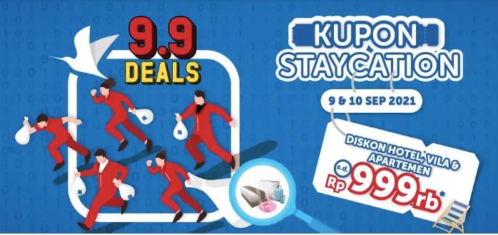 Traveloka 9.9 Deals September 2021