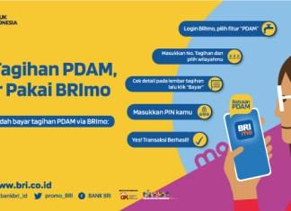 BRImo bayar tagihan PDAM