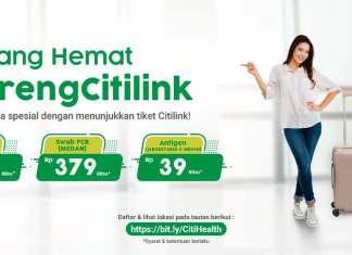 Citilink citihealth pcr antigen
