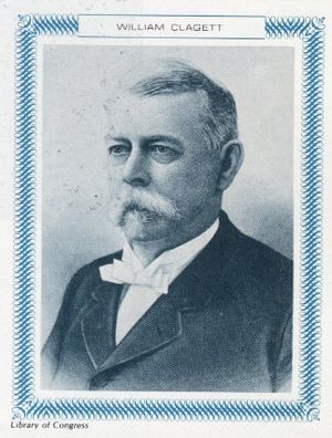 William H. Claggett, president of the Idaho constitutional convention