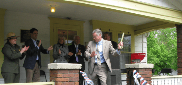 Ribbon cutting cropped