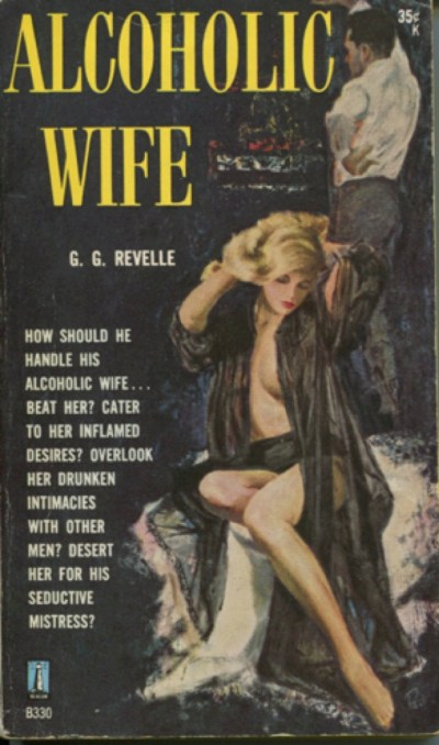 Cover of novel Alcoholic Wife