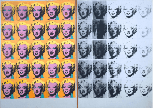 """""""Marilyn Diptych,"""" Andy Warhol (Tate Gallery)"""