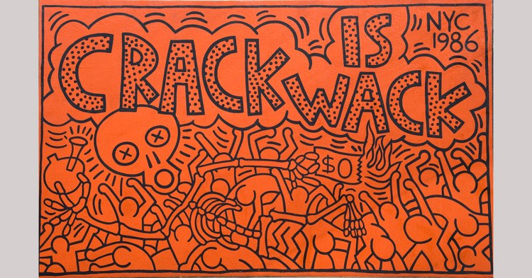 Crack is Wack Keith Haring
