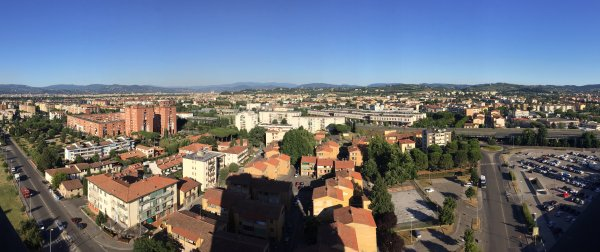 Hilton Florence Metropole View from Lounge