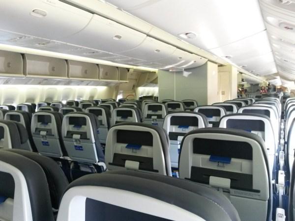 Empty Boeing 777