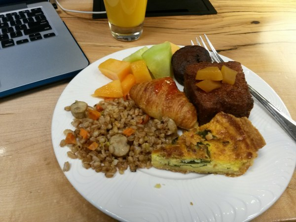 Breakfast at the Centurion SFO