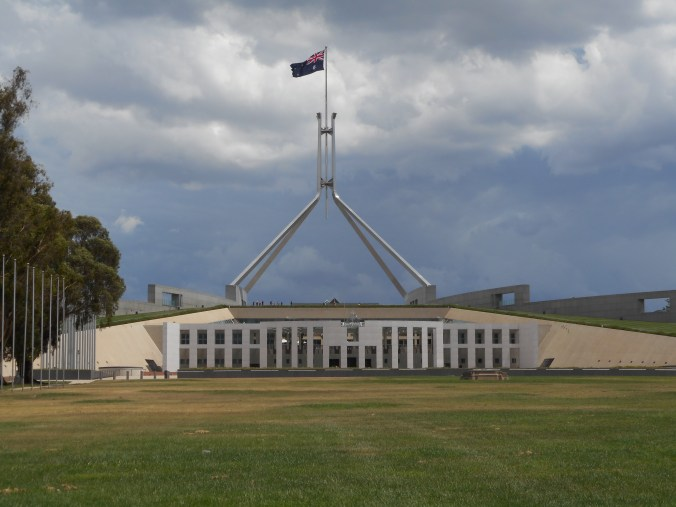 One Week Trip to Australia - Australian Parliament Building in Canberra