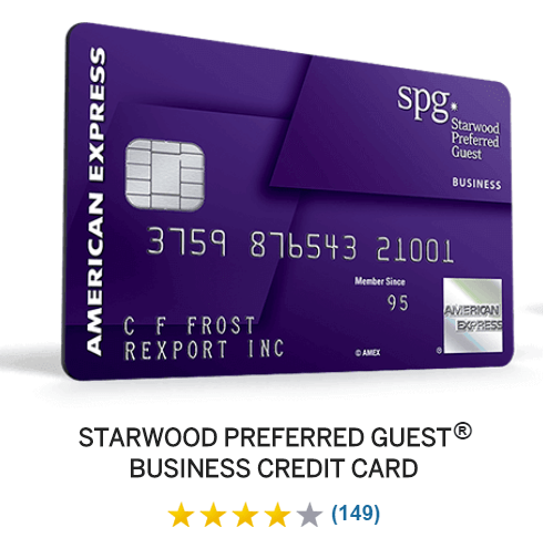 Starwood archives points miles life getting my first business credit card reheart Choice Image