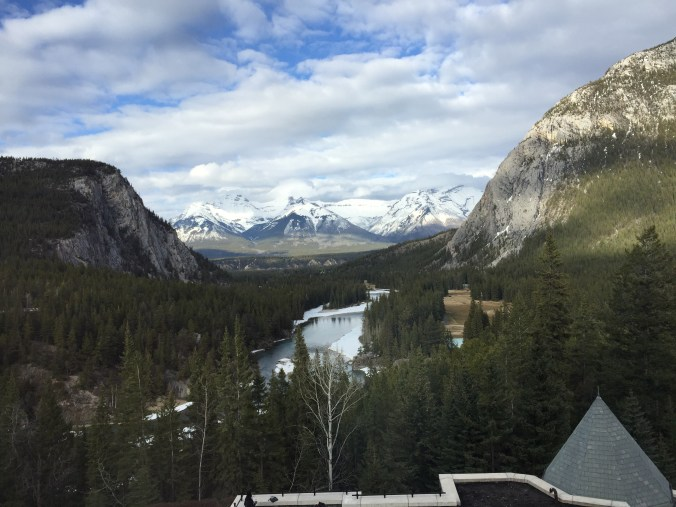 Fairmont Banff Springs One Bedroom Suite View