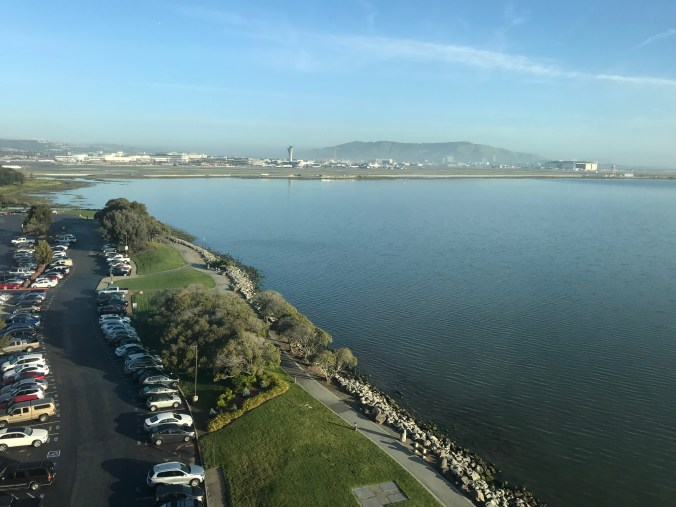 san francisco airport marriott waterfront view