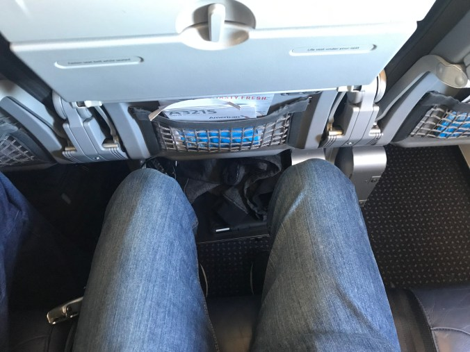 American Airlines A321 economy leg room