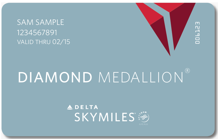 New Delta Diamond Medallion Choice Benefit Selection