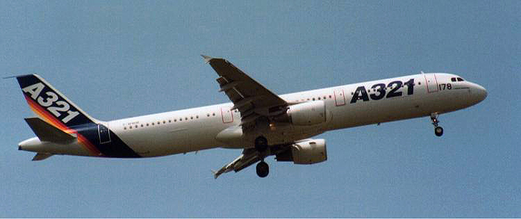 American Airlines Aircraft 321