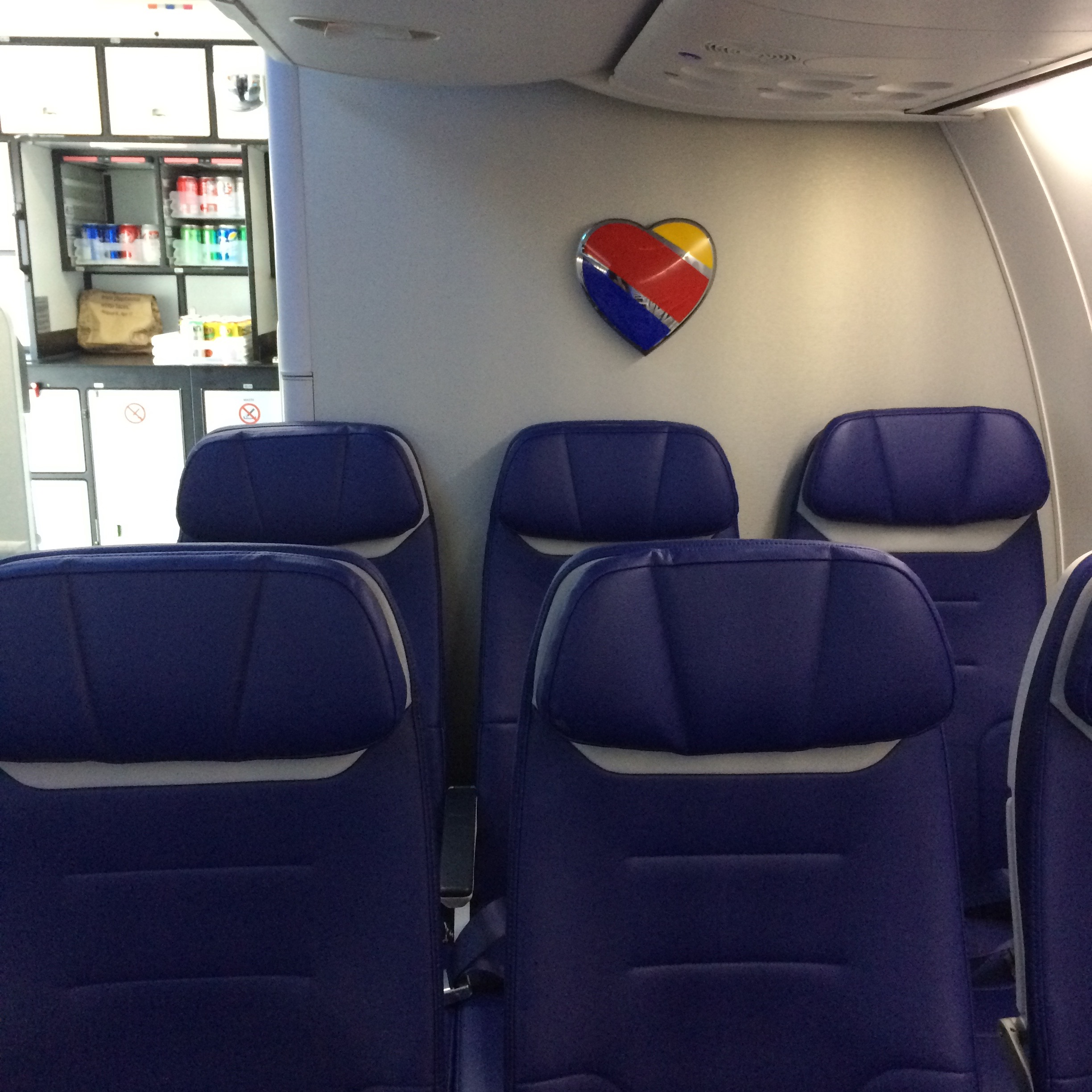 Flight Review Southwest Airlines New Interior On Bwi Las