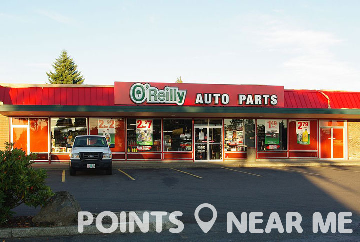 O Reilly Auto Parts Near Me Points Near Me