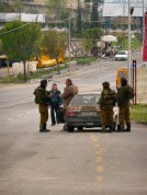 Stop and search, West Bank
