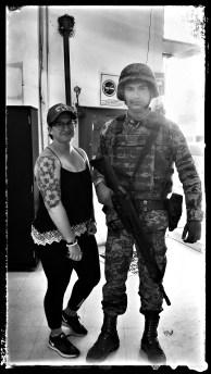 Patty's new body guard